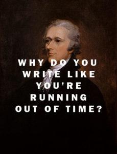 hamilton-writing