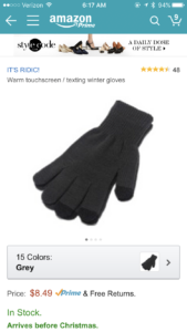 I ordered these extra special gloves and promptly lost them the day after they arrived :(